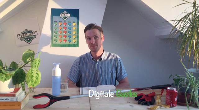 digitale gastles zwerfafval