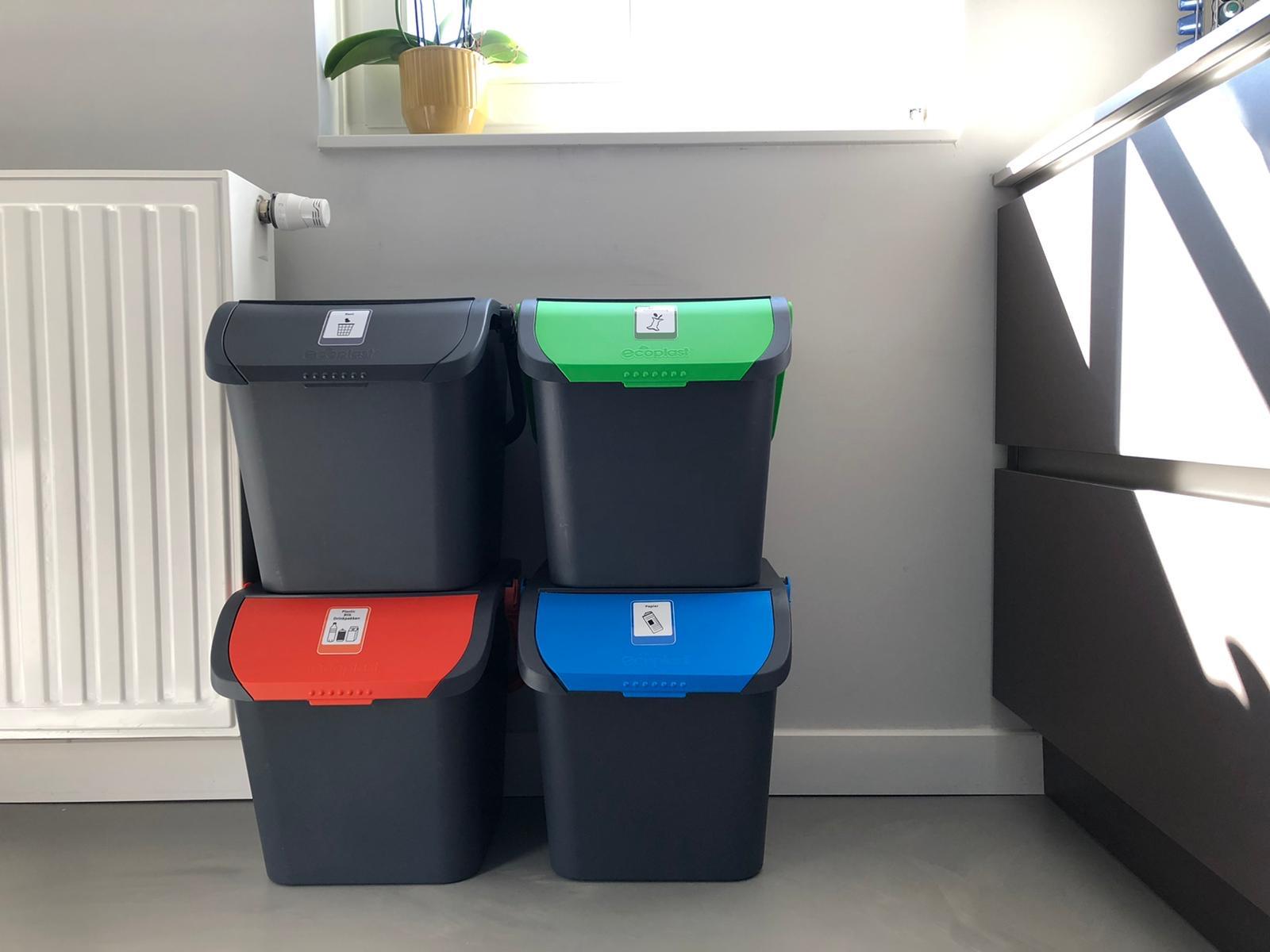 Afval scheiden thuis